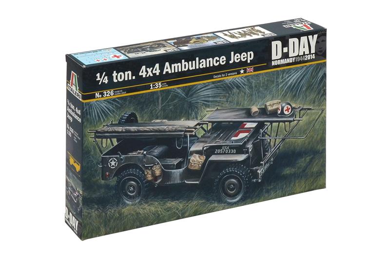 1/4 TON. 4×4 AMBULANCE JEEP