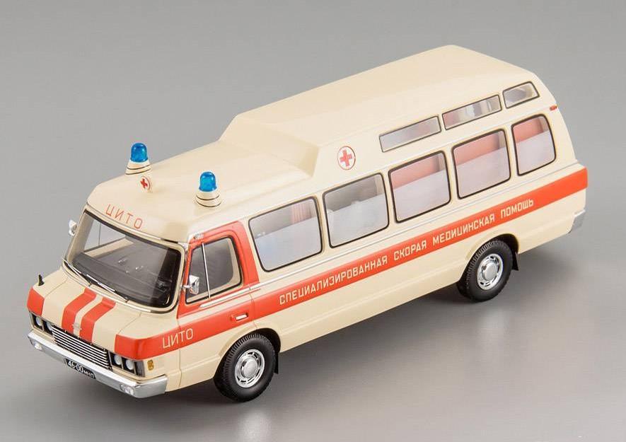 "ZIL 118 KA (Chassis №2) ""CITO"" Moscow 1979 Ambulance ( limited edition 252 pcs )"