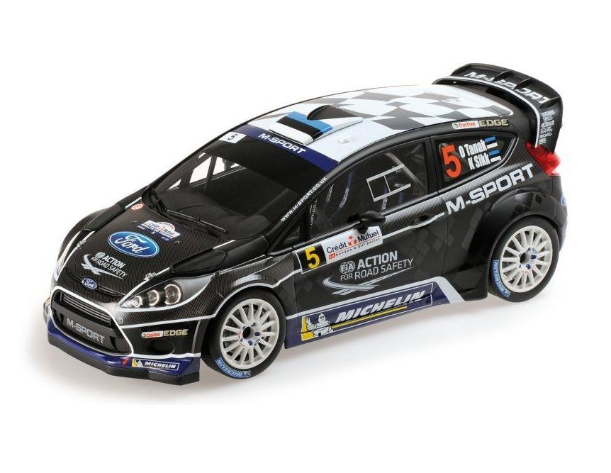 O. Tänak FORD FIESTA RS WRC M-SPORT FORD RALLY DE FRANCE ALSACE 2012 151120805 1:18