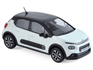 CITROEN C3 2016 Banquise White & Black