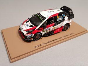 Ettetellimus!!!! TOYOTA Yaris WRC Winner Rally Argentina 2018 Ott Tänak – M.Järveoja