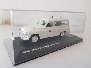 WARSZAWA 202A AMBULANCE 1959