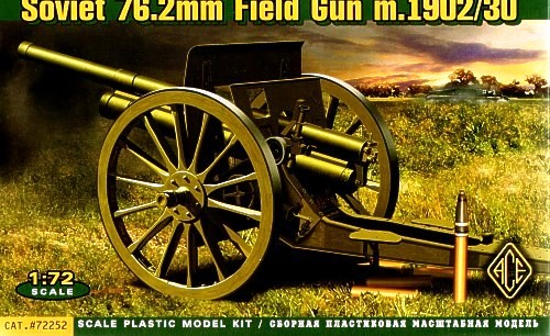 3 inch (76.2mm) Russian gun model 1902/30