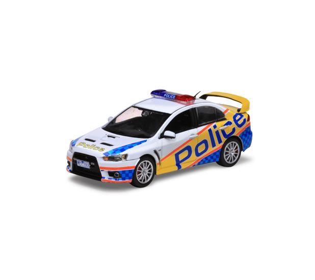 MITSUBISHI LANCER EVOLUTION X VICTORIA AUSTRALIAN POLICE