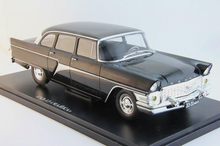 GAZ-13 Chaika 1959 Black «Легендарные советские автомобили» 1/24