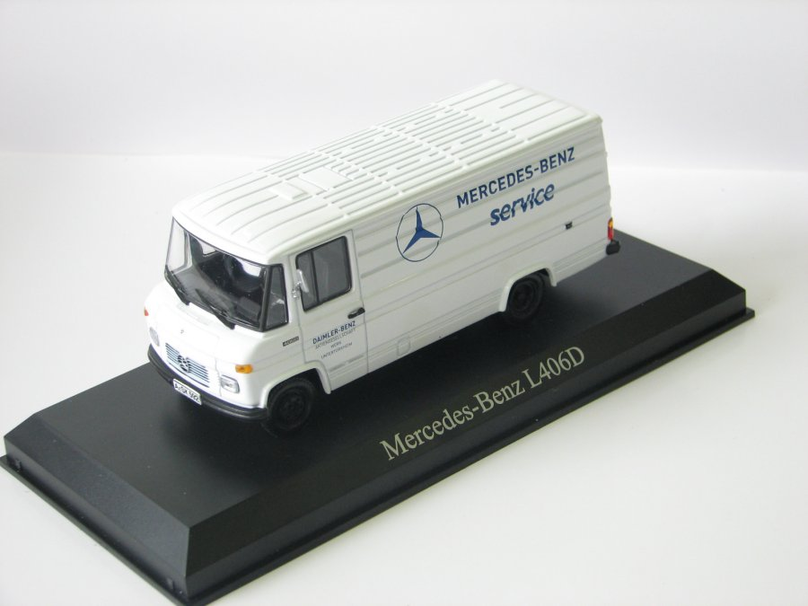 Mercedes L406D Mercedes Service 1972
