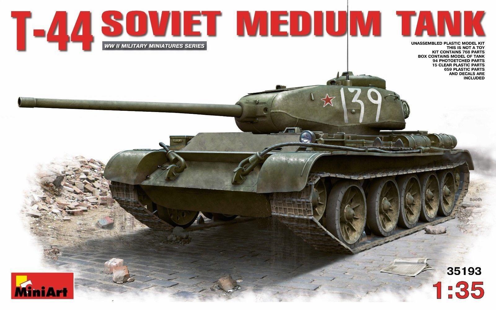 T-44 Soviet Medium Tank