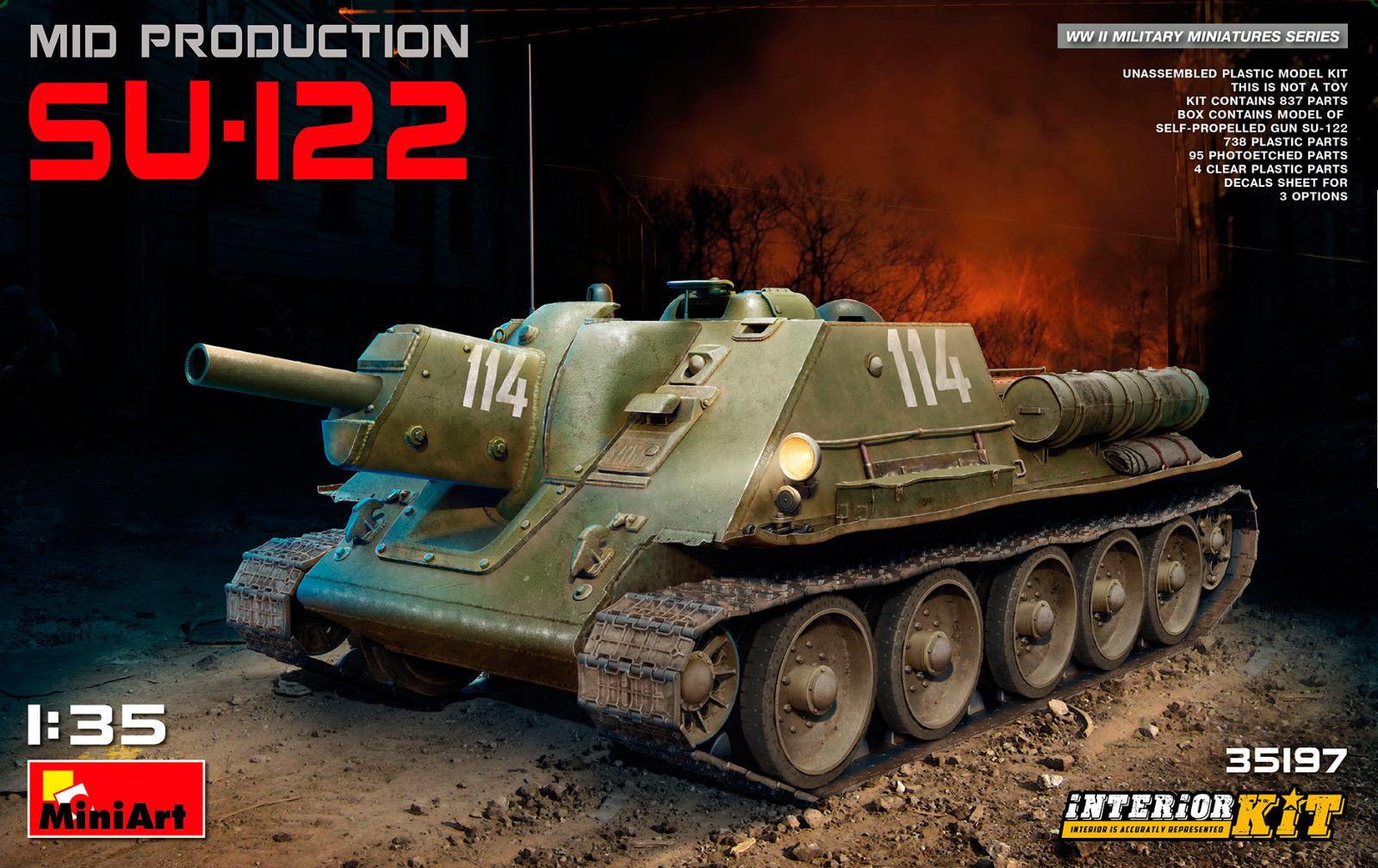 SU-122 (Mid Production) w/ Interior Kit
