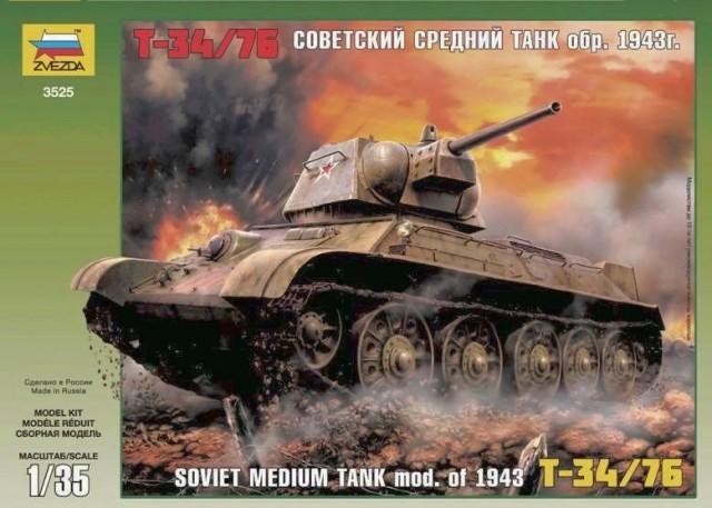 LIM/SOVIET TANK T-34/76