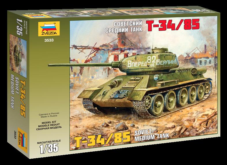T-34/85 Soviet Tank