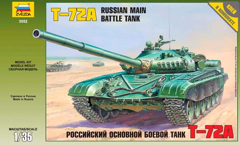 T-72A Russian Main Battle Tank