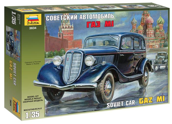 GAZ M-1 Soviet Car