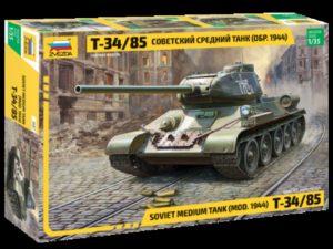 Soviet Medium Tank T-34/85 NEW 2018!