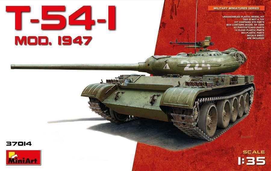 T-54-1 Soviet Medium Tank