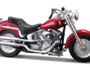 HARLEY-DAVIDSON FLSTFI FAT BOY 2004 RED