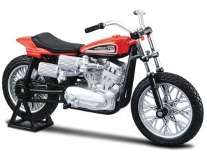 HARLEY-DAVIDSON XR750 RACING BIKE 1972 ORANGE/BLACK