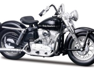 HARLEY DAVIDSON K MODEL 1952 BLACK MET