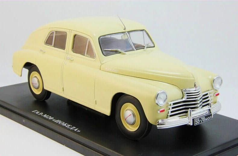 GAZ-M20 POBEDA (2 series) 1949 Beige «Легендарные советские автомобили» 1/24