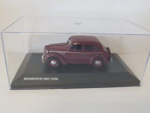 Moskvich 400 1946 red