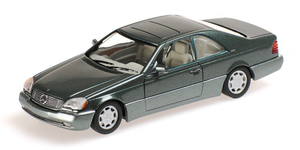 Mercedes-Benz S-CLASS 600 SEC COUPE (C140) 1992 GREEN MET.