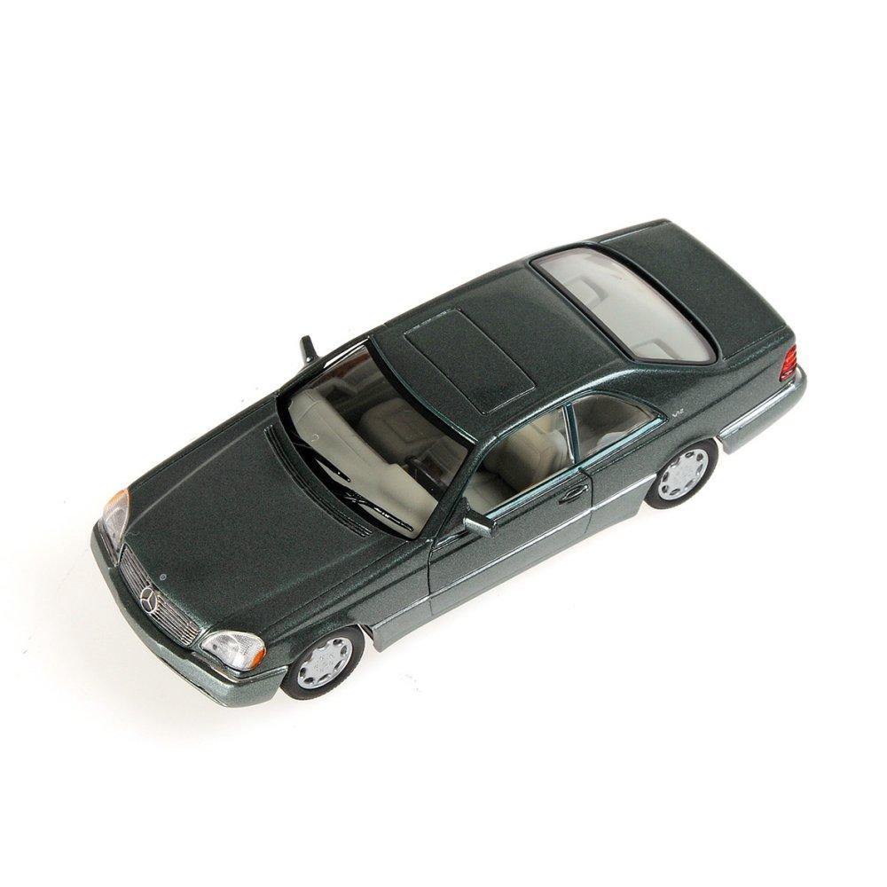 Mercedes benz s class 600 sec coupe c140 1992 green met for 1992 mercedes benz 600 class