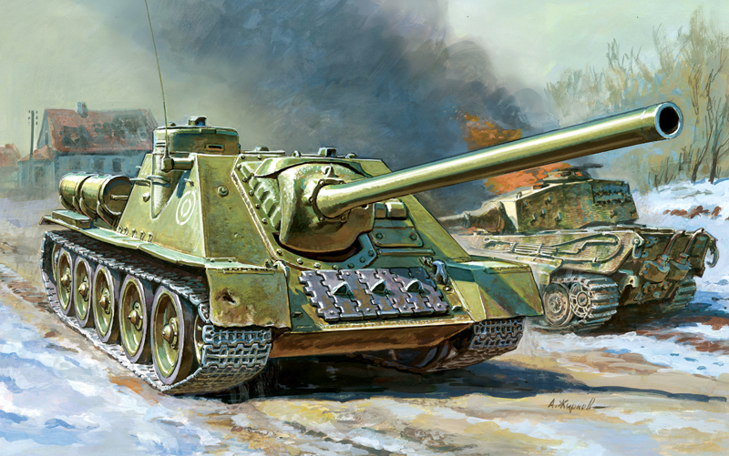 Soviet Self Propelled Gun SU-100