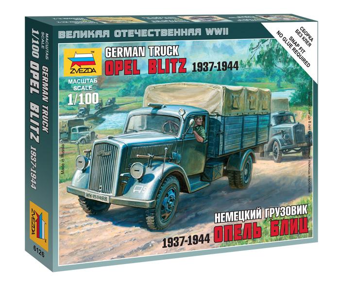 German truck Opel Blitz 1937 – 1944  1/100