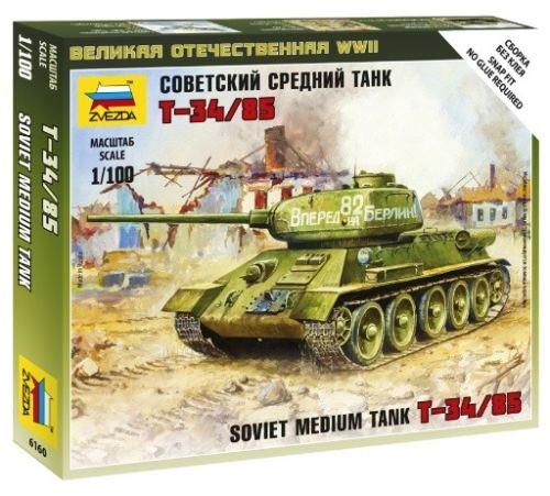 Soviet Medium Tank T-34/85 1/100