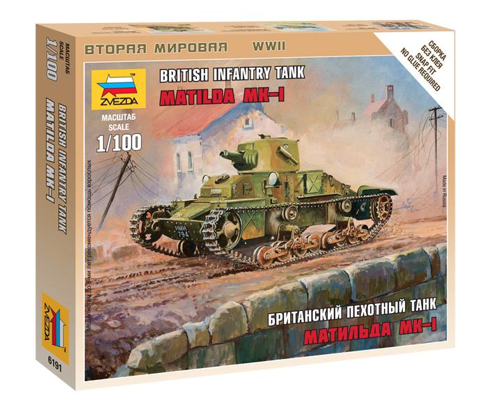 British Infantry Tank Matilda MK-I  1/100