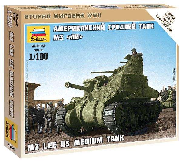 US Medium Tank M3 Lee  1/100