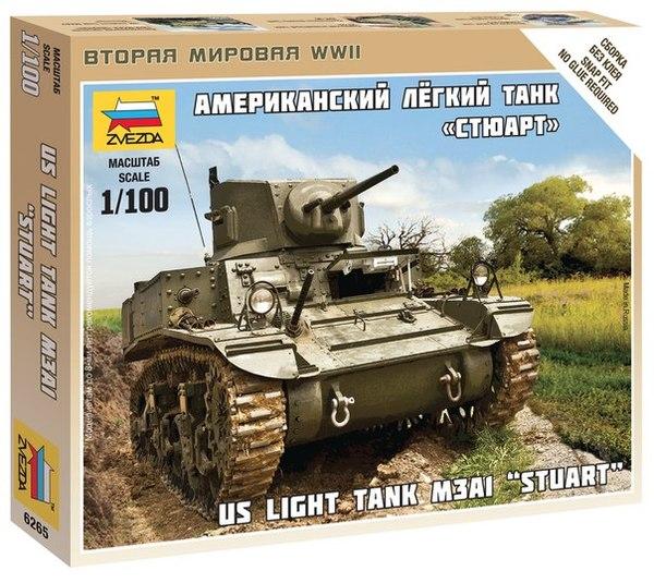 US Light Tank M3A1 Stuart  1/100