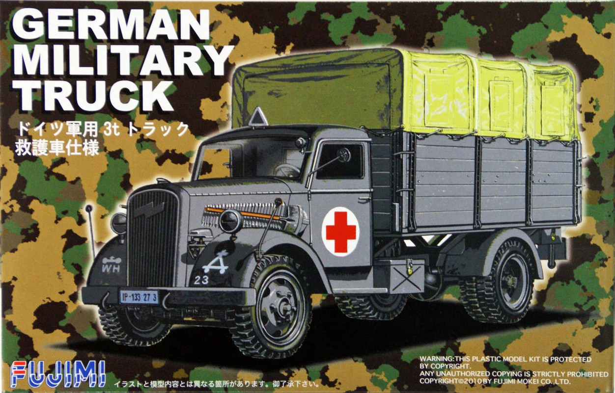 Opel Blitz German Military Truck