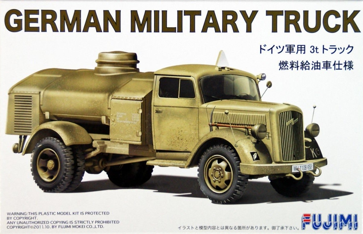Opel Blitz German Military Fuel Truck