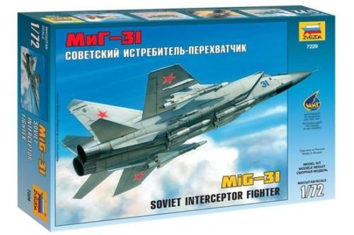 MIG-31 Soviet Interceptor