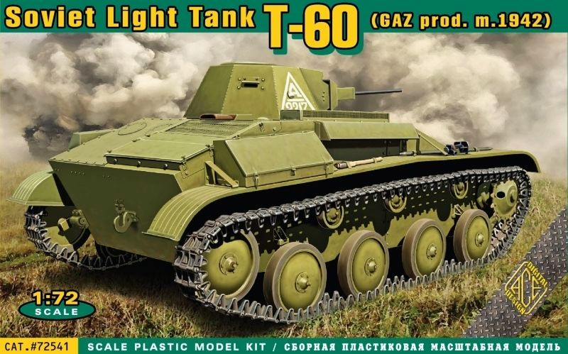T-60 Soviet Light Tank GAZ production (model 1942)