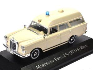 MERCEDES BENZ – 230 (W110) AMBULANCE 1966