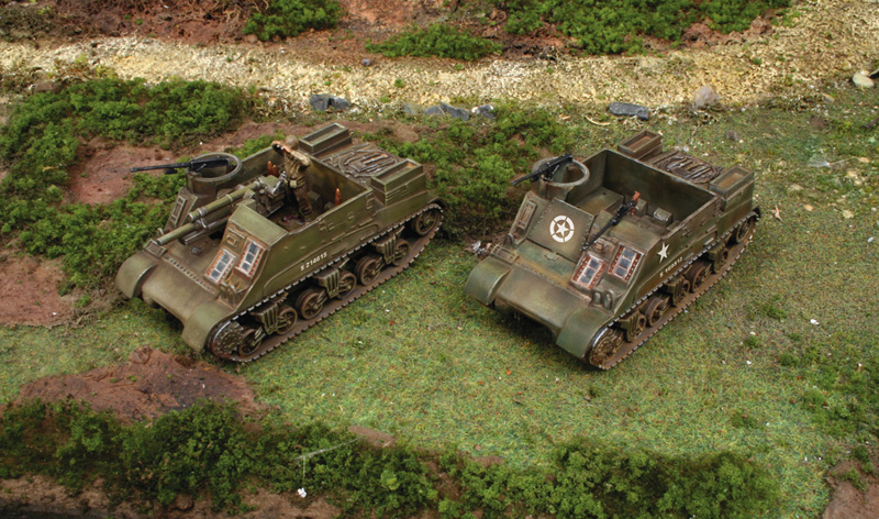 M7 PRIEST / KANGAROO  (2 FAST ASSEMBLY MODELS)