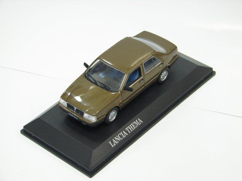 Lancia Thema 1984 brun métallisé NOREV