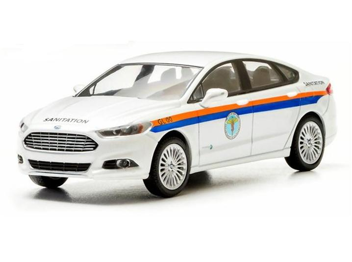 Ford Fusion The City of New York Department of Sanitation (DSNY) 2013