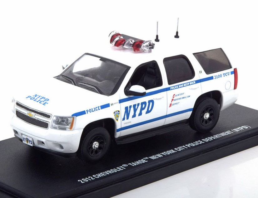"CHEVROLET Tahoe ""New York City Police Department"" (NYPD) 2012"