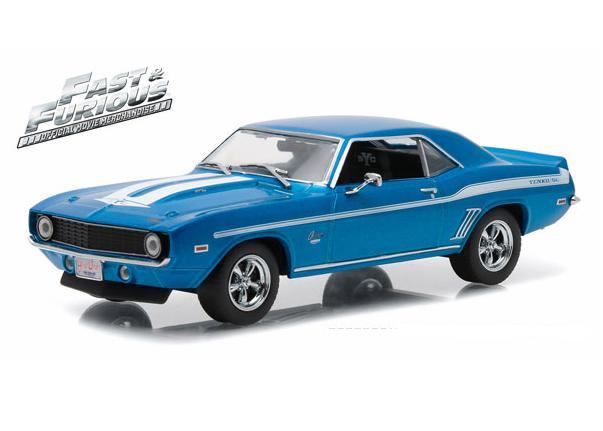 """CHEVROLET Camaro 1969 """"Fast & Furious"""" Blue"""
