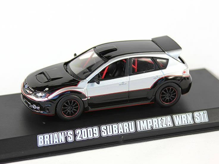 "Subaru Impreza WRX STi 2009 Silver ""Fast & Furious"""