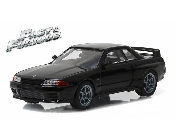"Nissan Skyline 1989 ""Fast & Furious 7"" Black"