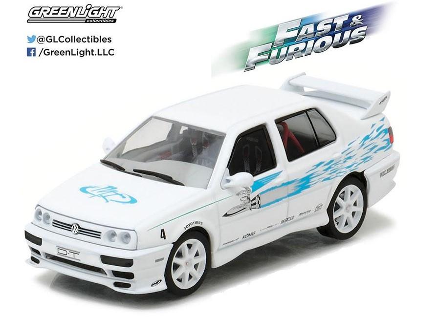 "VW Jetta III 1995 White ""Fast & Furious"""