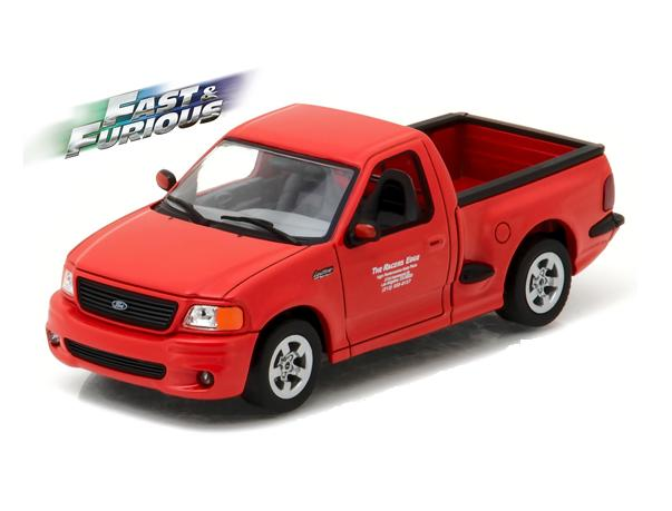 "FORD F-150 SVT Lightning 1999 Red ""Fast & Furious"""