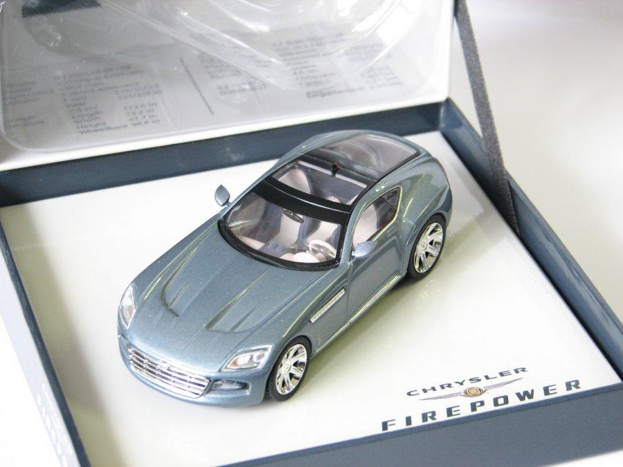 Chrysler Firepower concept car Detroit Auto Show 2005