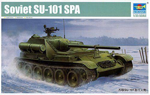 Soviet SU-101 SPA