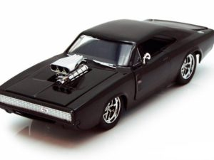 """Dom's Dodge Charger R/T """"Fast And Furious 7"""" 1970 Black"""