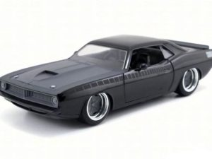 """Letty's Plymouth Barracuda """"Fast And Furious 7"""" 1970 Black"""