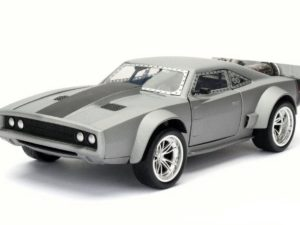 "Dom's Ice Charger R/T ""Fast And Furious 8"" 1970 Gun Metal"